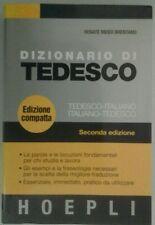 Vocabolario Dizionario di Lingue Tedesco Editore Hoepli NUOVO