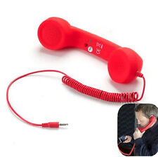 PC Retro POP  Mobile phones  Handset Computer Red 3.5mm Jack 2016 For iPhone