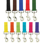 Nylon Dog Leash Zack & Zoey, USA Seller, 11 Colors, 3 Sizes Durable! Puppy Lead