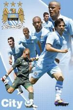 SOCCER POSTER Manchester City Players 2012