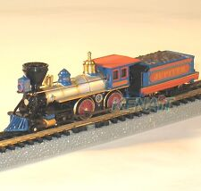 "Bachmann N Scale STEAM LOCO AMERICAN 4-4-0 & TENDER ""C.P. Jupiter"" #51174"