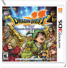 3DS Dragon Quest VII Fragments of the Forgotten Past Nintendo RPG Games