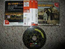 Panzer Front  (Sega Dreamcast, 1999) Complete w/ Spine JP Japan Import