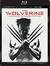 The Wolverine (Blu-ray/DVD, 2013, 4-Disc Set, Unleashed Extended Edition;...