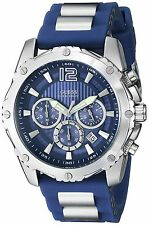 Guess Men's U0167g3 Blue Bold Move Chronograph Sport Watch