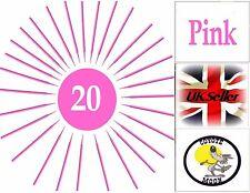 Swab Micro Brush Disposable Microbrush Applicators Eyelash Extensions PINK UK