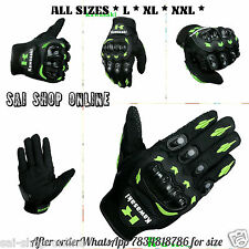 All Model - Kawasaki Inspired Motorcycle MX Motocross Racing Gloves Green Black*
