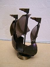 Mexican Steampunk - Spanish Galleon Metal Sculpture #2 - Mexico