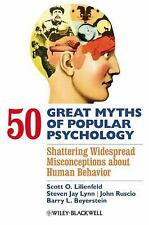 50 GREAT MYTHS OF POPULAR PSYCHOLOGY - NEW HARDCOVER BOOK