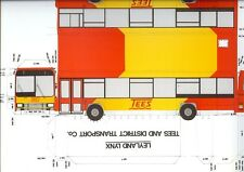 Tees & District Traction erstwhile United Auto Leyland Lynx Cleveland County kit