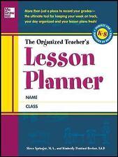 The Organized Teacher's Lesson Planner, , Persiani, Kimberly, Springer, Steve, V