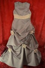 Silver  formal children's gown