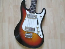 Commodore bass guitar - late sixties - made in Japan.