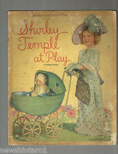 #T46.  FIVE OLD SHIRLEY  TEMPLE CHILD STAR   BOOKS