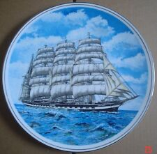 Pearsons Of Norwich England Collectors Plate KRUSENSTERN (Ex PADUA) Sailing Ship