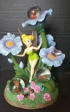 Rare Disney Store Tinkerbell w/Fireflies 3 Snowglobe Collectible Huge! Magical!