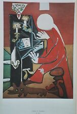 """PICASSO : EL PIANO / MUSEO PICASSO BARCELONA"" Poster Madrid 1979"