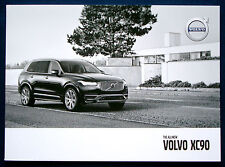 Prospekt brochure all-new 2016 Volvo XC90 (USA)