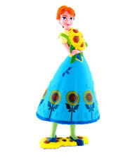 DISNEY BULLYLAND BULLY FROZEN FEVER ANNA PERSONAGGIO IN GOMMA ANNA 12959 FIGURE