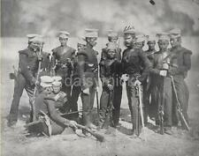 British Army Gurkha Nusseree Battalion 1857 Empire Photo 6x5 Inch Reprint R