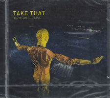 2 CD ♫ Compact disc Box **TAKE THAT ♦ PROGRESS LIVE** nuovo sigillato