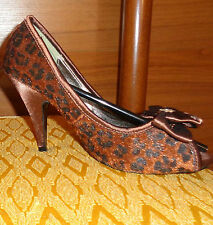 Decoltè spuntate Leopardate Mai Usate - Never used Woman Shoes Court Spotted