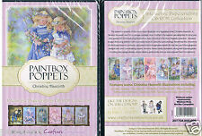 Crafters Companion DVD rom PC CDrom paintbox poppets by Christine Haworth