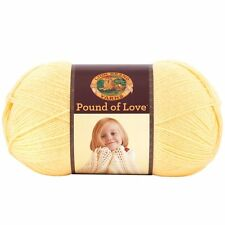 Lion Brand Yarn 550-158 Pound of Love Yarn, Honey Bee , New, Free Shipping