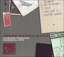 The Jerry Garcia Band, Warner Theatre, March 18, 1978, Excellent Live
