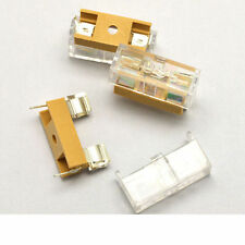 6 pcs - GMA PCB Fuse Holder Chassis Mount 5X20mm with Cover - USA FREE SHIPPING!
