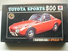Nitto Vintage 1/20 Scale Toyota Sports 800 Model Kit - New & Rare & Motorised !