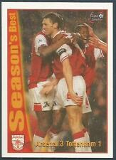 FUTERA-ARSENAL 1997- #48-SEASON'S BEST-ARSENAL 3-TOTTENHAM HOTSPUR 1-TONY ADAMS