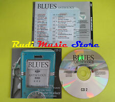 CD BLUES ANTHOLOGY compilation JAMES MUDDY WATERS KING JOHNSON no mc lp (C15)