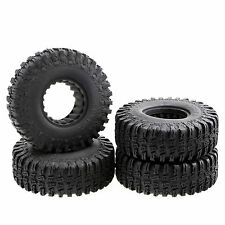 "Rubber Tires 1.9"" x 1.5"" x 4.4""  OD 114mm w/ Foam for 1.9"" Wheel RC Crawler 4pcs"