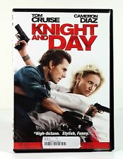 KNIGHT AND DAY (DVD, 2010) Tom Cruise Cameron Diaz Action Spy Movie Rental