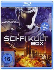 Die Science-Fiction Movie Box, 3 Filme, 3 DVDs, siehe Beschreibung