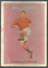 A&BC 1959/60 FOOTBALL QUIZ (1-49) #33-BLACKPOOL & ENGLAND-BILL PERRY