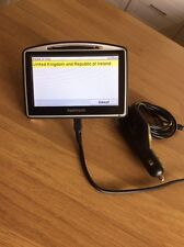 TOMTOM GO 530 UK & REP OF IRELAND MAPS SAT NAV GPS FULLY WORKING
