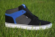 Vans Ellis Mid Suede/Textile Black/Blue SK8 Half Cab Men's Skate Shoes Size 13