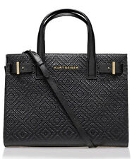 Kurt Geiger London WOVEN LONDON TOTE BAG Black RRP £240