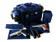 "Range bag 20"" Blue NATO Tactical® Gun Pistol shoot 1000D Nylon Duffle police USA"