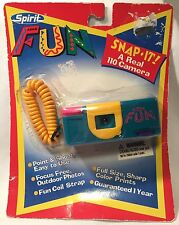 Spirit Fun 110 Camera Plastic Snap It Mini Toy Multicolor NOS