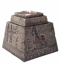 "5"" Egyptian Pyramid T-Light Box Egypt Decor Statue Home Decor Figure"