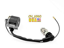 For Stihl 024 026 028 029 MS240/260/290 chainsaw Ignition Coil & Spark plug US