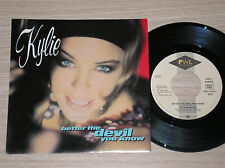"KYLIE MINOGUE - BETTER THE DEVIL YOU KNOW - 45 GIRI 7"" GERMANY"