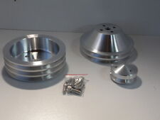 CHEV BIG BLOCK  PULLEY KIT 2V BALANCER,1V WATER PUMP PLUS ALTERNATOR