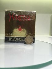 NEW Vtge YSL Yvresse Champagne Perfume Edt 100 ml Round Splash bottle Crystal