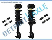 New (2) Complete Rear Quick Install Struts + Front and Rear Sway Bar End Links