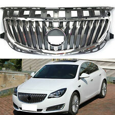 ABS+Chrome Front Chrome Grille Grill Overlay For Buick Regal 2014-2016
