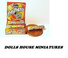 vintage  STYLE SHOP COUNTER SWEET DISPLAY  DOLLS HOUSE MINIATURES